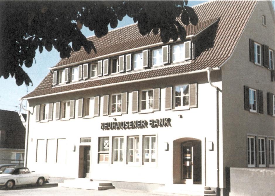 Historie Volksbank Filder