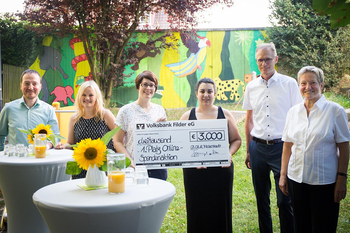 Online-Spendenwettbewerb